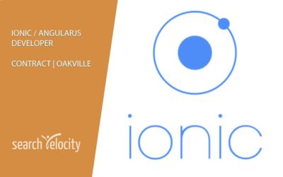Ionic Developer | Oakville