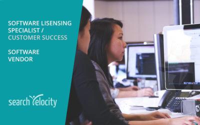 Software Licensing Specialist – Oakville