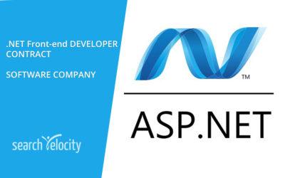 .NET Front-end Developer (Contract) – Oakville