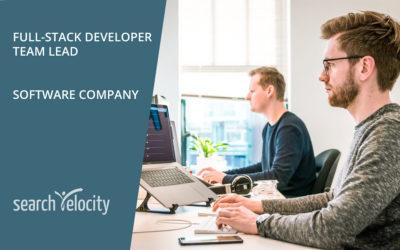 Full-Stack Senior Developer | Team Lead | Oakville