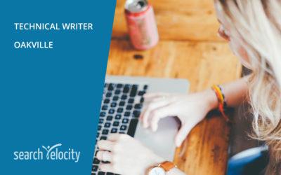 Technical Writer | OAKVILLE
