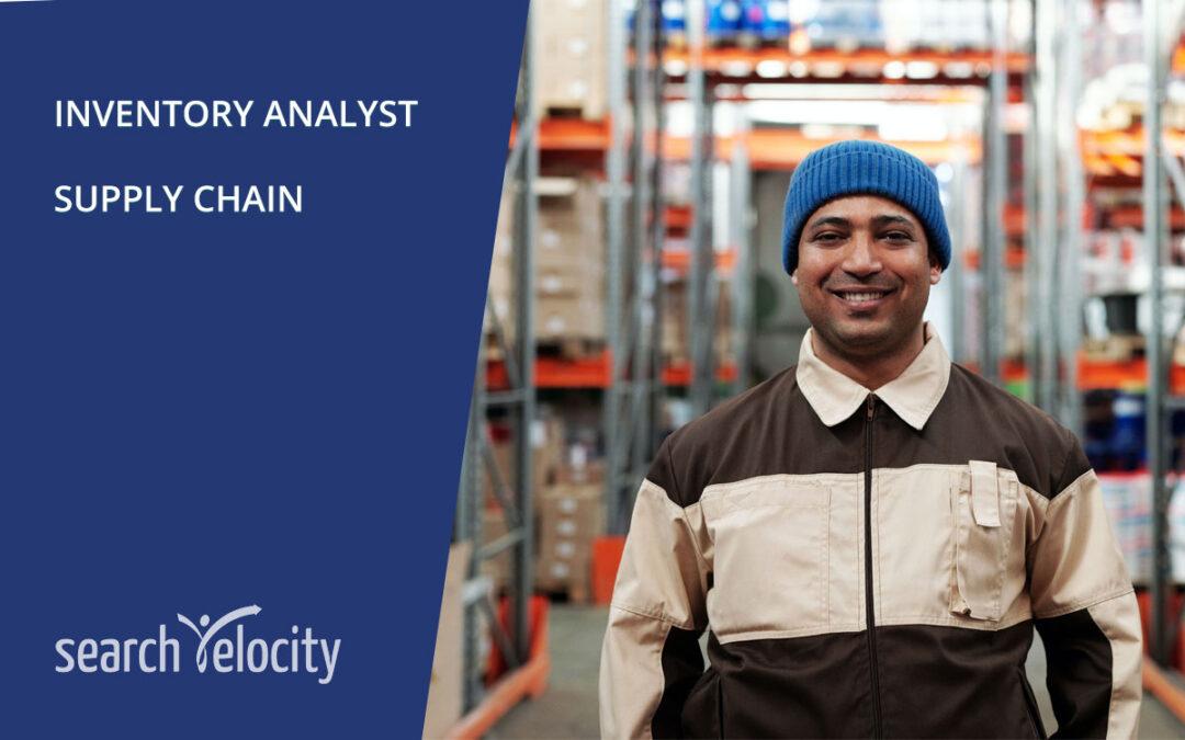 Inventory Analyst | Brampton