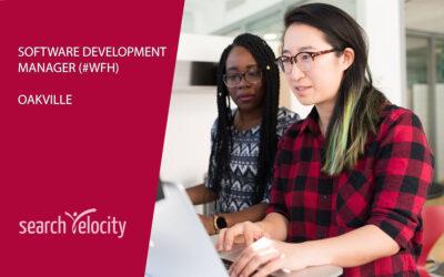 Software Development Manager | Oakville