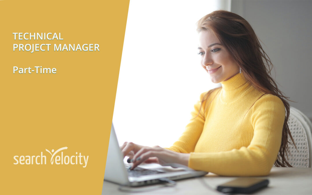 Technical Project Manager – Part Time