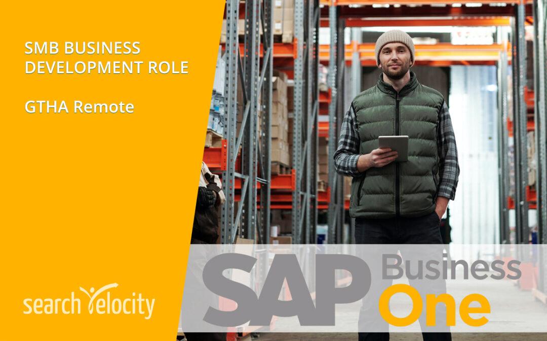 SAP Business One Sales | REMOTE – GTHA